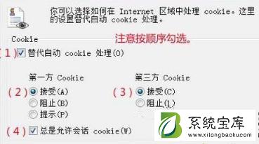 IE浏览器提示cookie被禁用